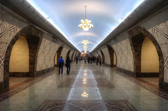Almaty city, Kazakhstan subway view 3