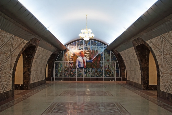 Almaty city, Kazakhstan subway view 4