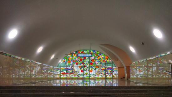 Almaty city, Kazakhstan subway view 5