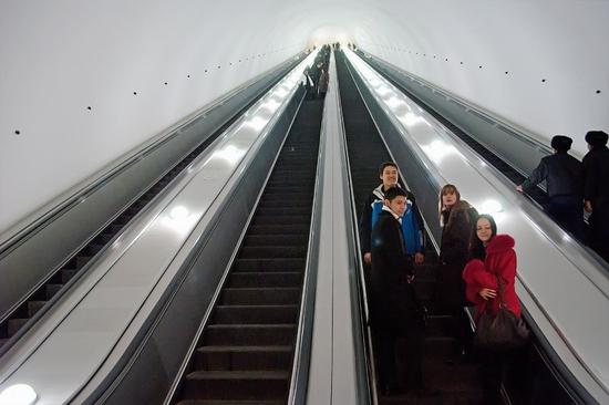 Almaty city, Kazakhstan subway view 8