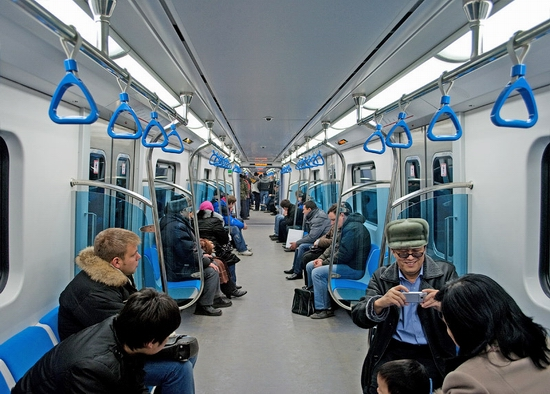 Almaty city, Kazakhstan subway view 9