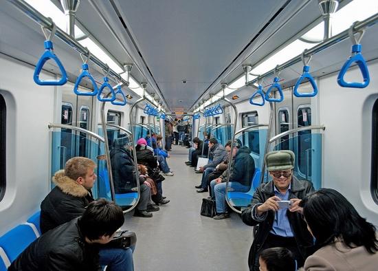 Almaty city, Kazakhstan subway view 9