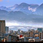 Almaty bird's-eye view