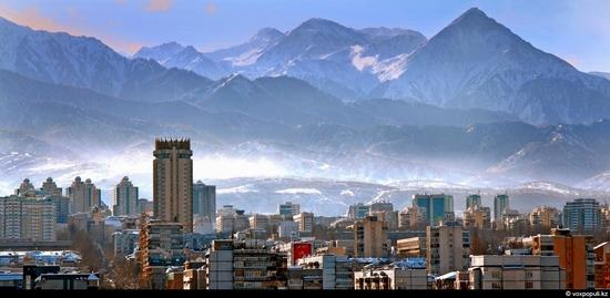 Almaty bird's eye view 1