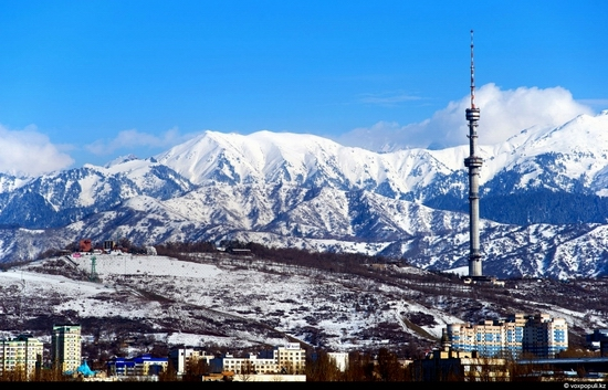 Almaty bird's eye view 10
