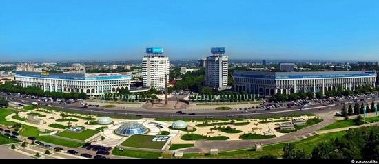 Almaty bird's eye view 11