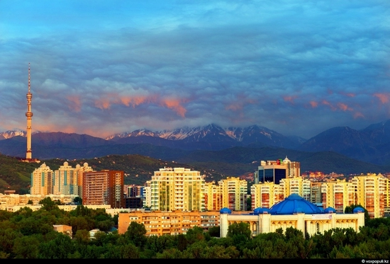 Almaty bird's eye view 13