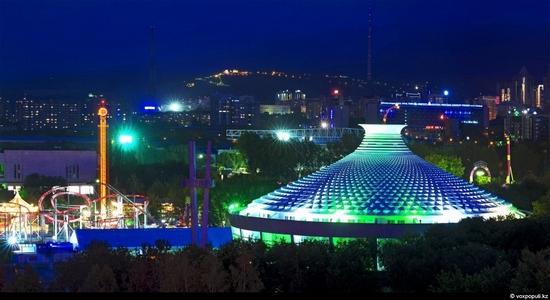 Almaty bird's eye view 18