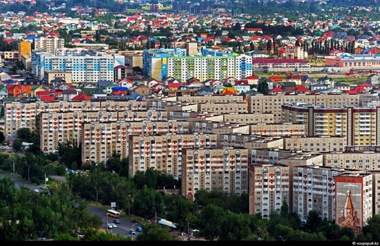 Almaty bird's eye view 2