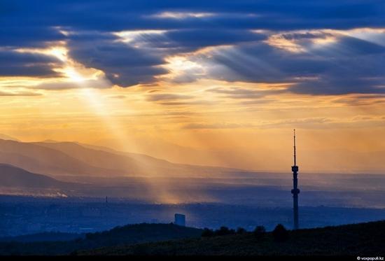 Almaty bird's eye view 22