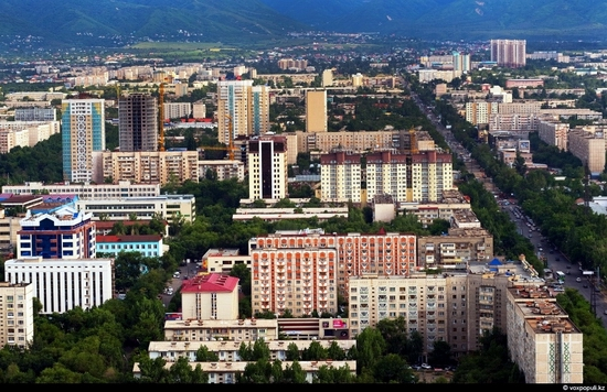 Almaty bird's eye view 3