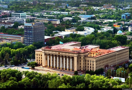 Almaty bird's eye view 4