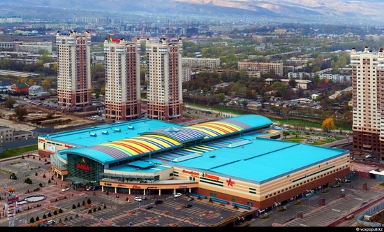 Almaty bird's eye view 7