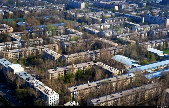 Almaty bird's eye view 8