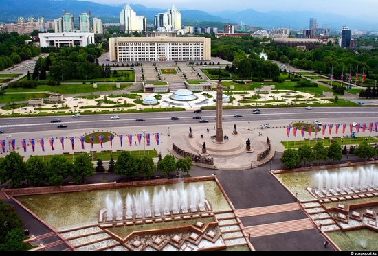 Almaty bird's eye view 9