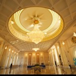 The interiors of the residence of the President of Kazakhstan