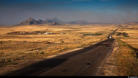North and East Kazakhstan landscape view 1