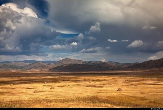 North and East Kazakhstan landscape view 10