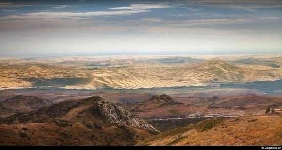 North and East Kazakhstan landscape view 11