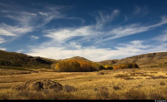 North and East Kazakhstan landscape view 18