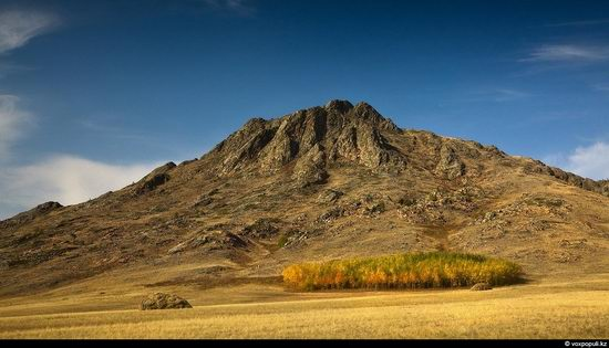 North and East Kazakhstan landscape view 20