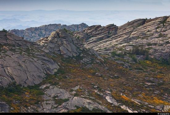 North and East Kazakhstan landscape view 3