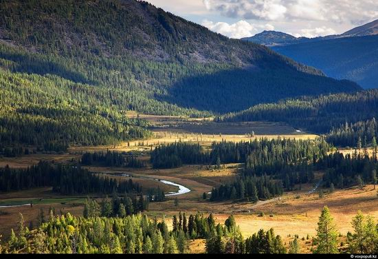 North and East Kazakhstan landscape view 6