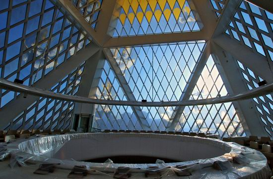 The Palace of Peace and Accord - the Pyramid in Astana, Kazakhstan view 15