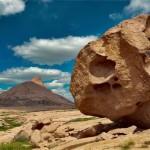Picturesque sceneries of Bektau-Ata