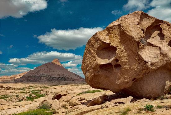 Picturesque sceneries of Bektau-Ata, Kazakhstan 1