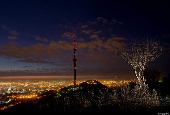 Almaty city, Kazakhstan night view 10