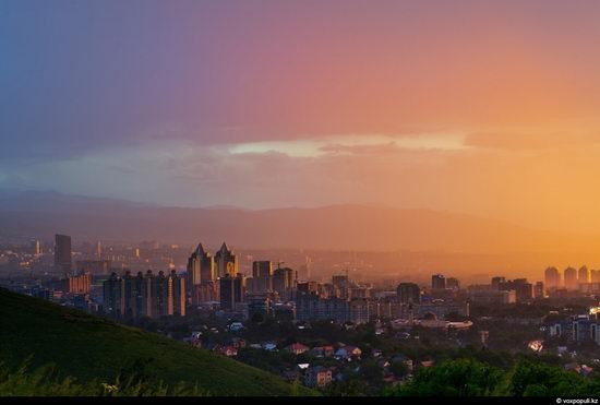 Almaty city, Kazakhstan night view 11