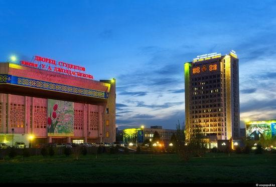 Almaty city, Kazakhstan night view 13