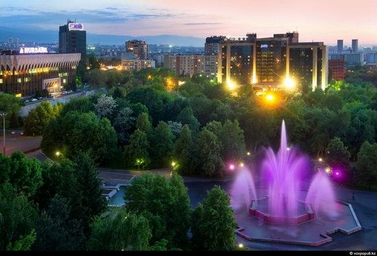 Almaty city, Kazakhstan night view 14