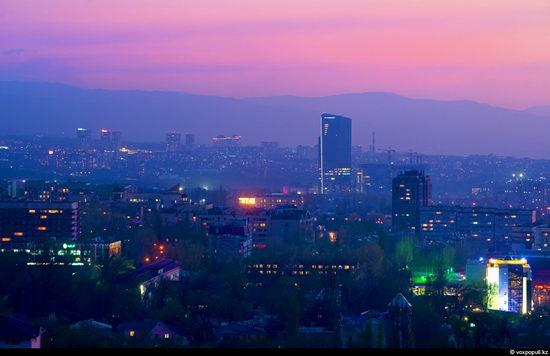 Almaty city, Kazakhstan night view 17