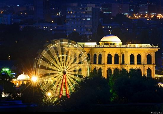 Almaty city, Kazakhstan night view 3