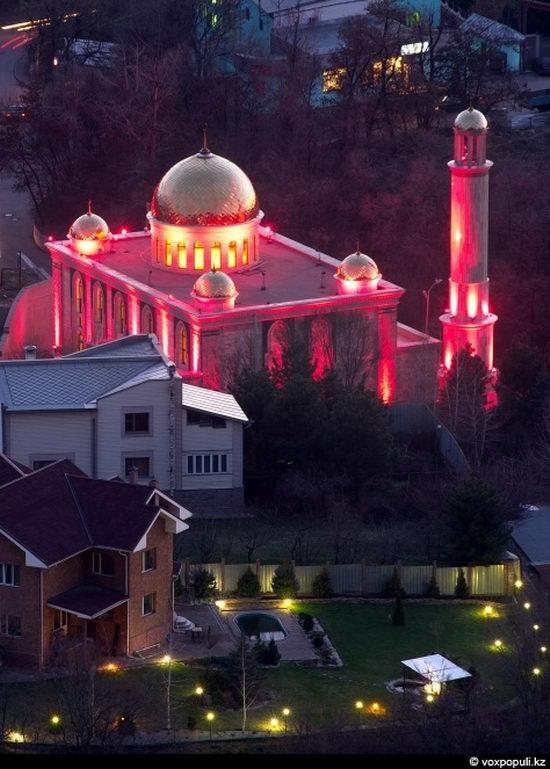Almaty city, Kazakhstan night view 9