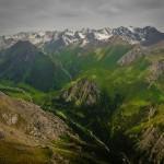 Beautiful landscapes of south-eastern Kazakhstan