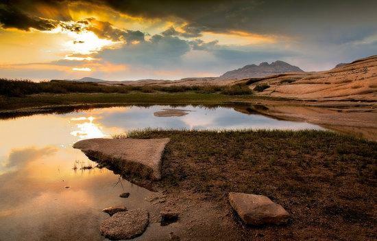Bektau-Ata, Kazakhstan landscape photo 14