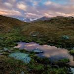 Beautiful landscapes of Ushkonyr plateau near Almaty