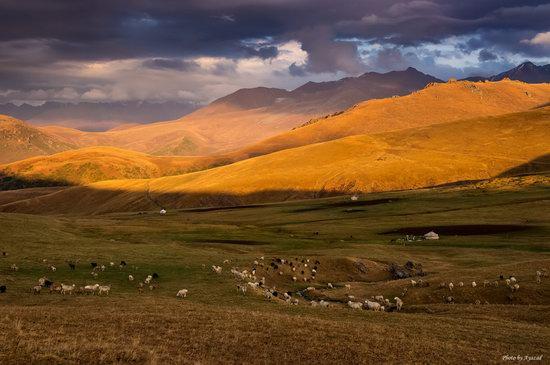 Ushkonyr plateau, Almaty, Kazakhstan landscape photo 3