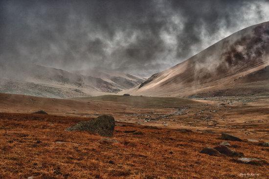 Ushkonyr plateau, Almaty, Kazakhstan landscape photo 4