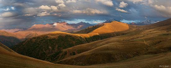 Ushkonyr plateau, Almaty, Kazakhstan landscape photo 5