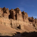 Unique nature of Charyn Canyon