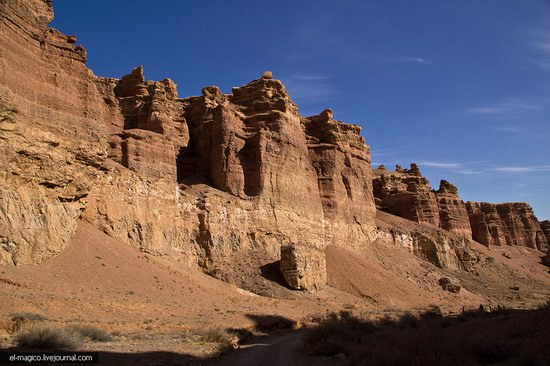Unique nature of Charyn Canyon, Kazakhstan photo 1