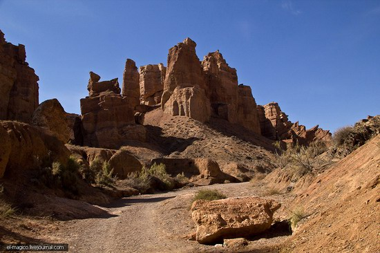 Unique nature of Charyn Canyon, Kazakhstan photo 13