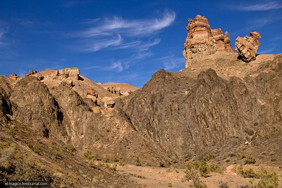 Unique nature of Charyn Canyon, Kazakhstan photo 20