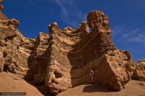 Unique nature of Charyn Canyon, Kazakhstan photo 8