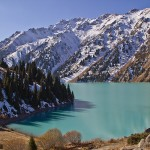 Big Almaty Lake and surroundings