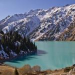Big Almaty Lake and surroundings